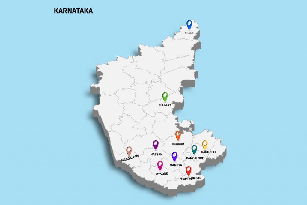 home page karnataka map